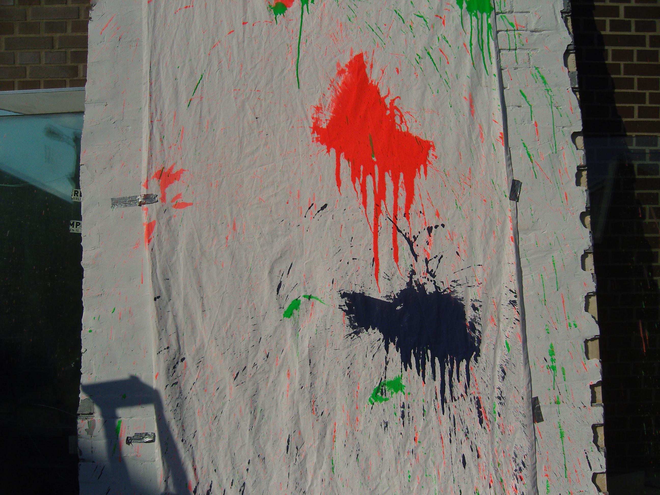 Farbbeutel Werfen
