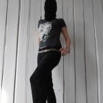 Shirt Farbbeutel grau