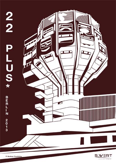 Berlin Kalender 2013: 22 PLUS
