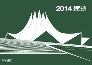 Titelbild s.wert kalender 2014: Tempodrom