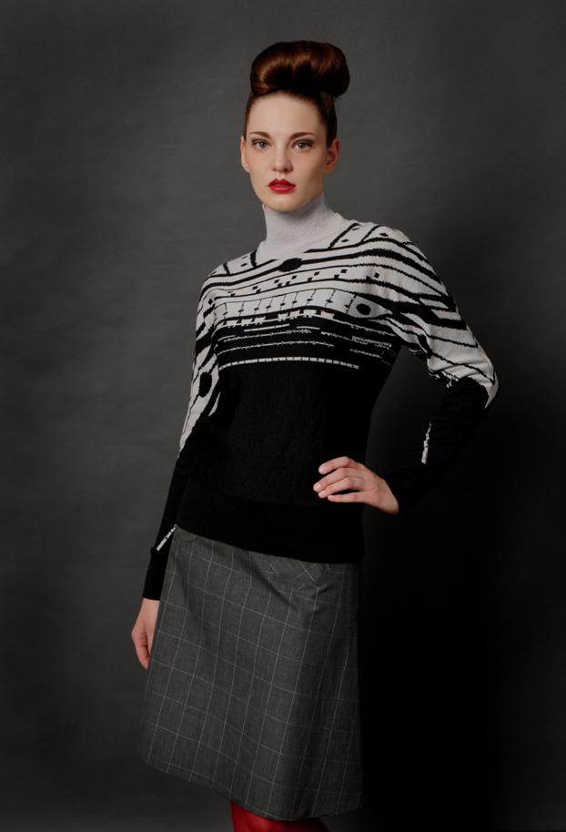 ICC Pullover gestrickt
