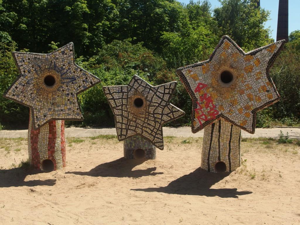 Frei Formen auf dem Sternenspielplatz von teffi Bluhm