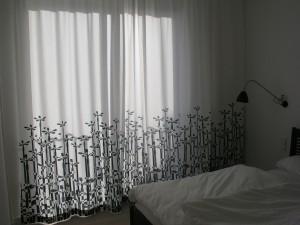 Großstadtpflanzen-Vorhang