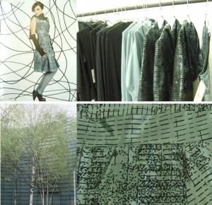 """Herbst/winter kollektion """"Nordic Fragments"""" von NIX mit Textildesign von s.wert"""