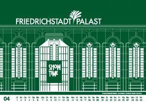 Im April ist SHOW TIME für den Friedrichstadt-Palast