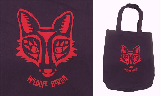 Wildlife Berlin - die Fuchs Tasche